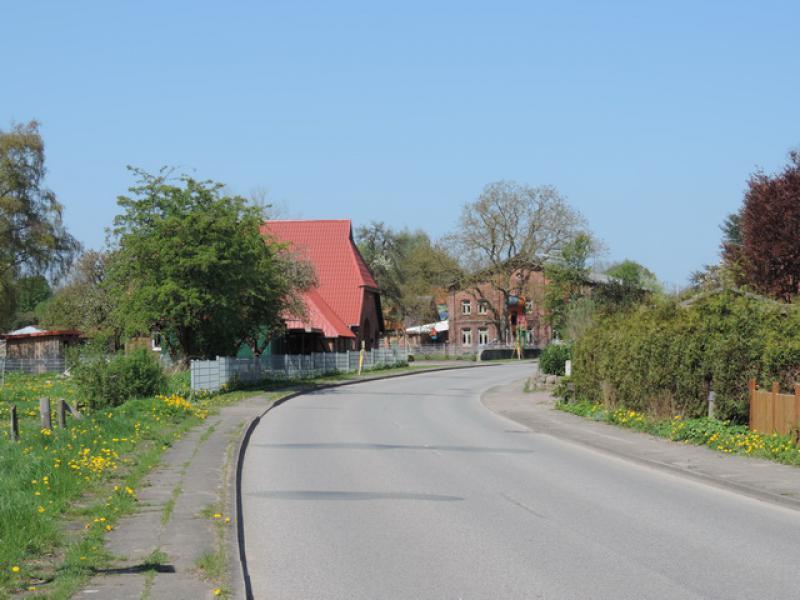 Einfahrt Schackendorf