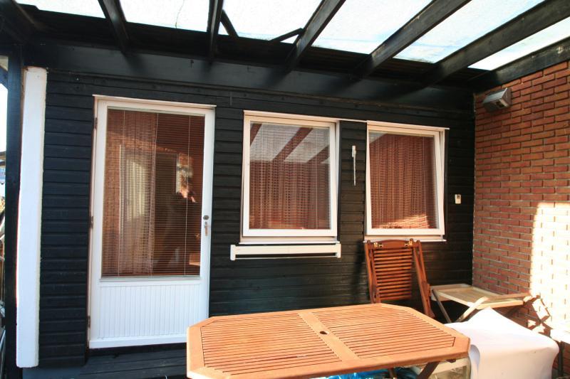 Terrasse und separates Büro