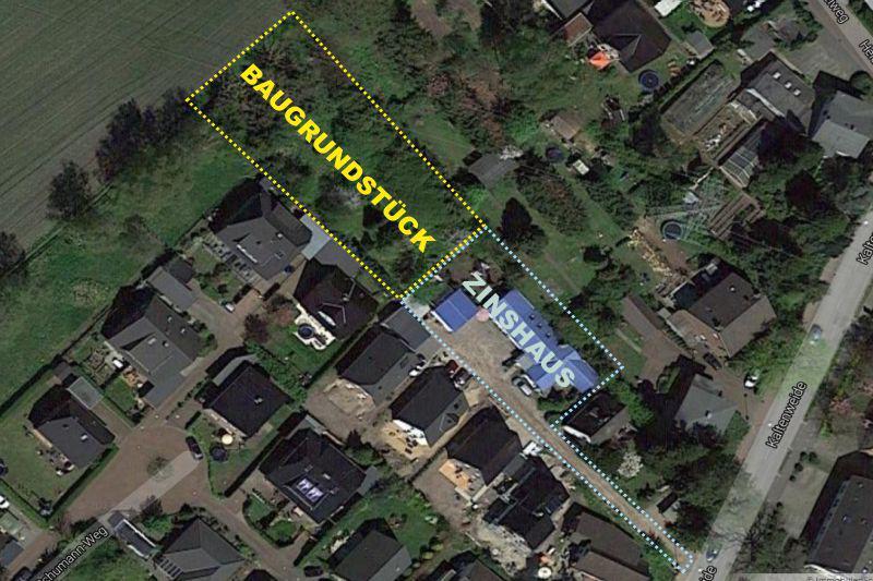 1200m² Baugrdst. für ein Wohnhaus mit Gewerbe + Zinshaus mit 2 Wohneinheiten!