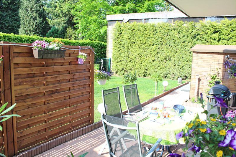 Traumhafte Terrassenwohnung mit Gartenanteil und 4 % Rendite