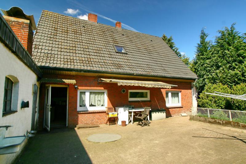 Innenhof mit Terrasse