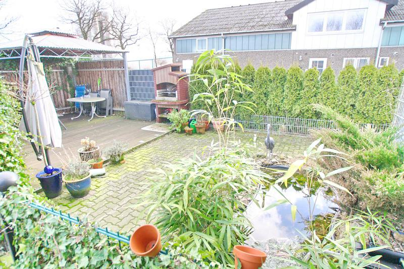 Garten der Wohnung