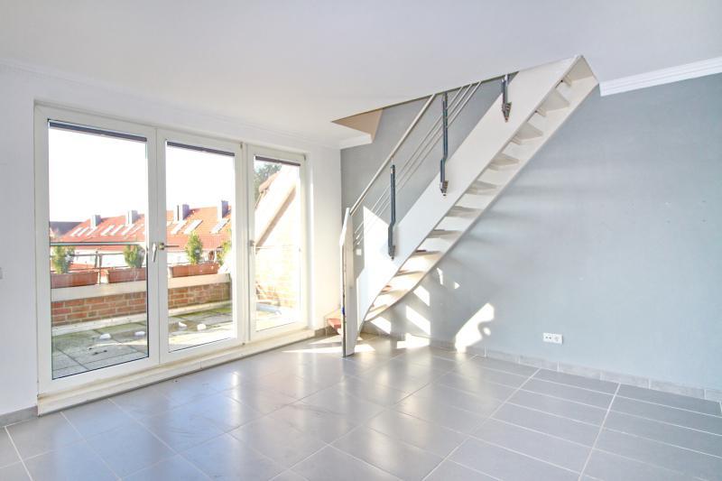 Balkonzugang und Treppenaufgang