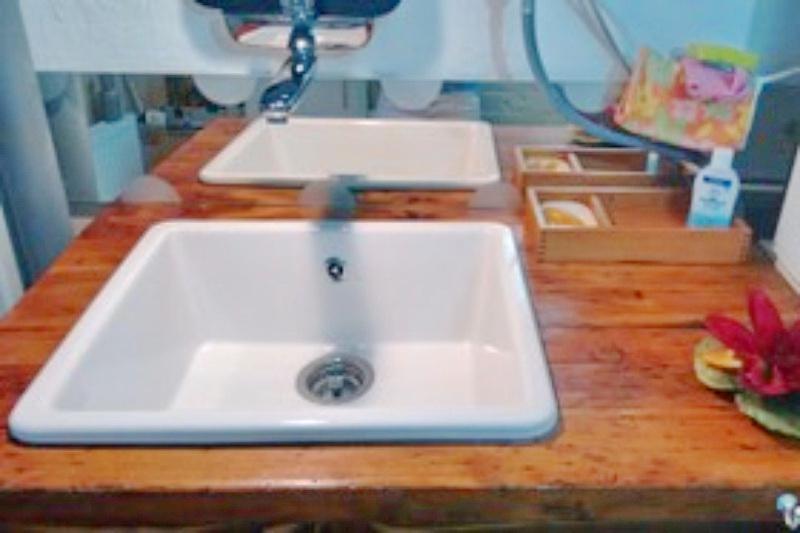 Waschtisch- Gäste-WC