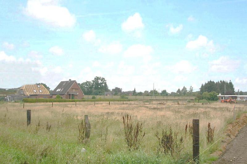 Blick auf das Grundstück