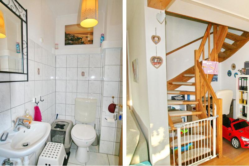 Gäste WC / Treppe