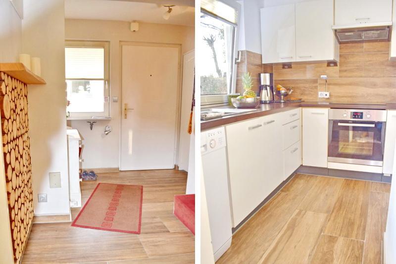 Eingangsbereich und Küche Haus 2