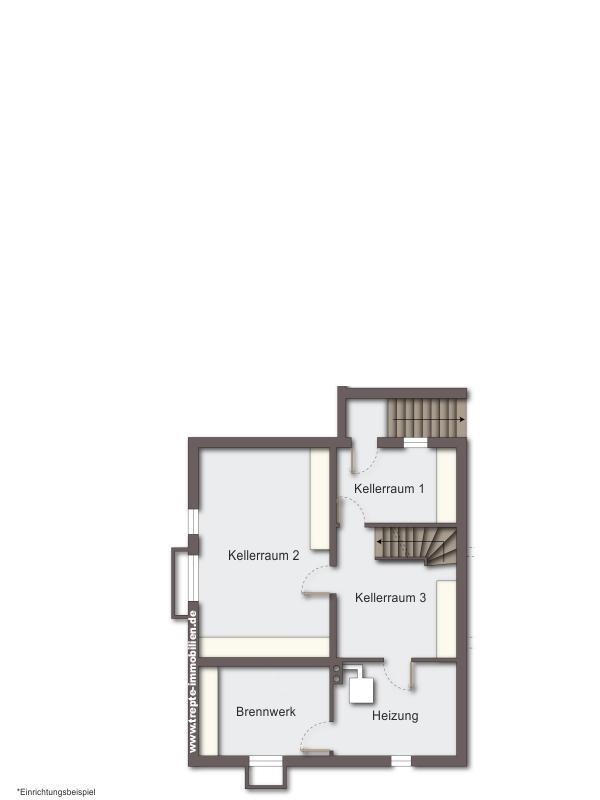 Grundriss  Kellergeschoss Haus 1