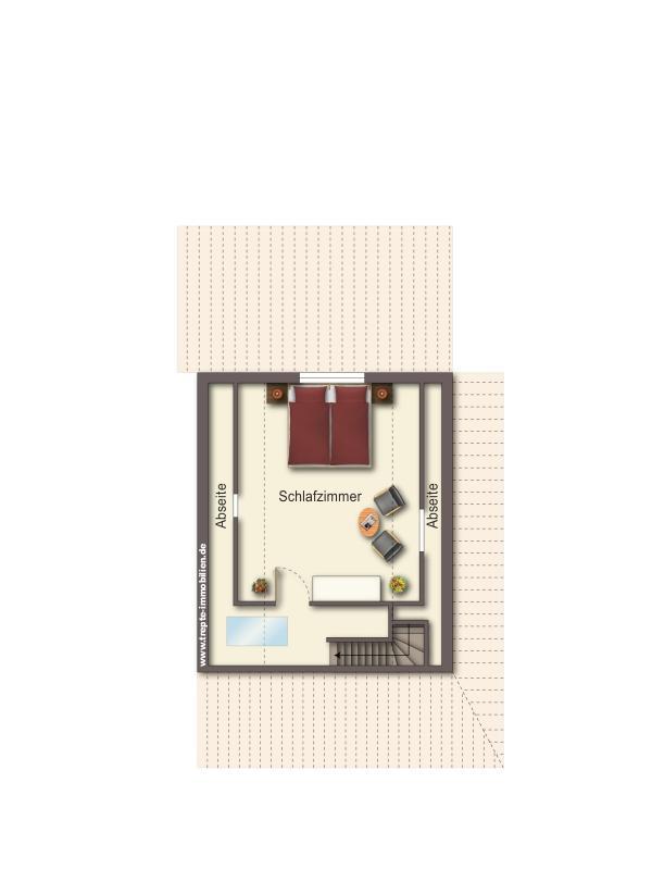 Grundriss  Dachgeschoss Haus 2