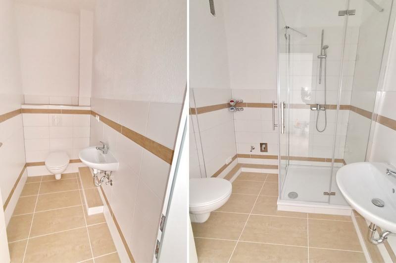 Gäste WC und Bad