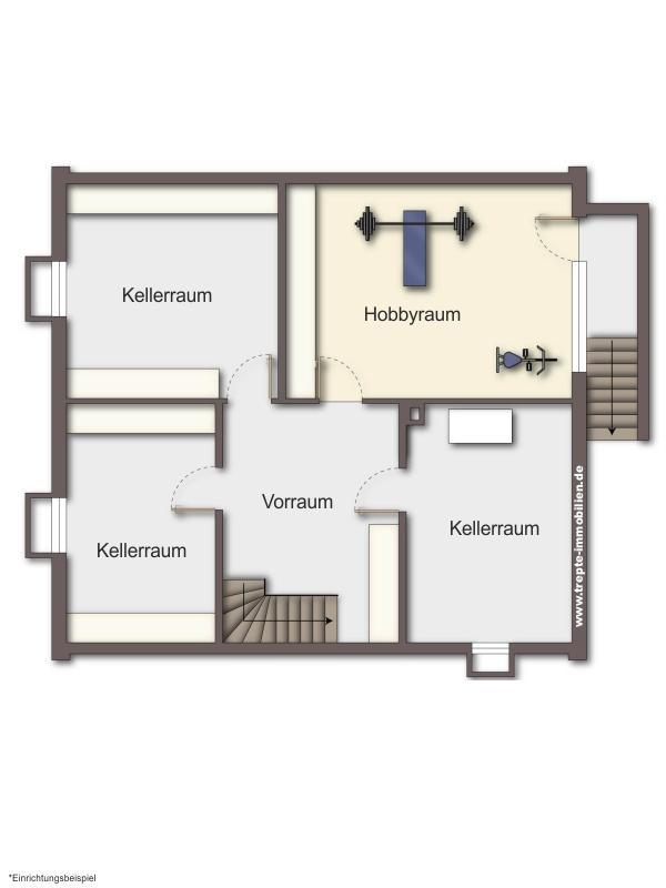Grundriss Kellergeschoss