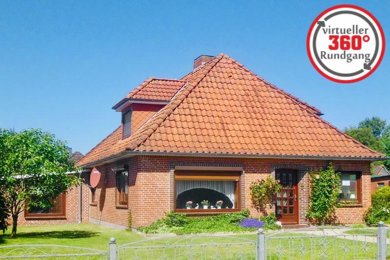 Solides Einfamilienhaus im Storchendorf, Bergenhusen bei Rendsburg !!!