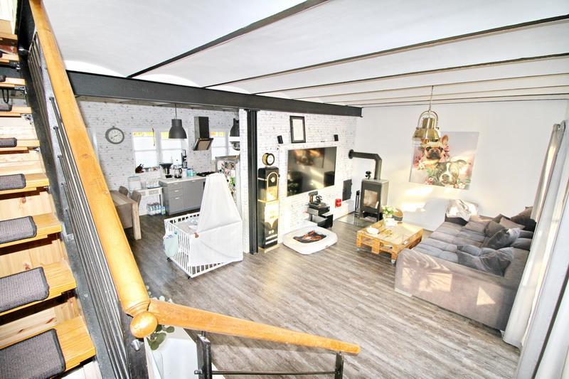 Blick auf das Erdgeschoss