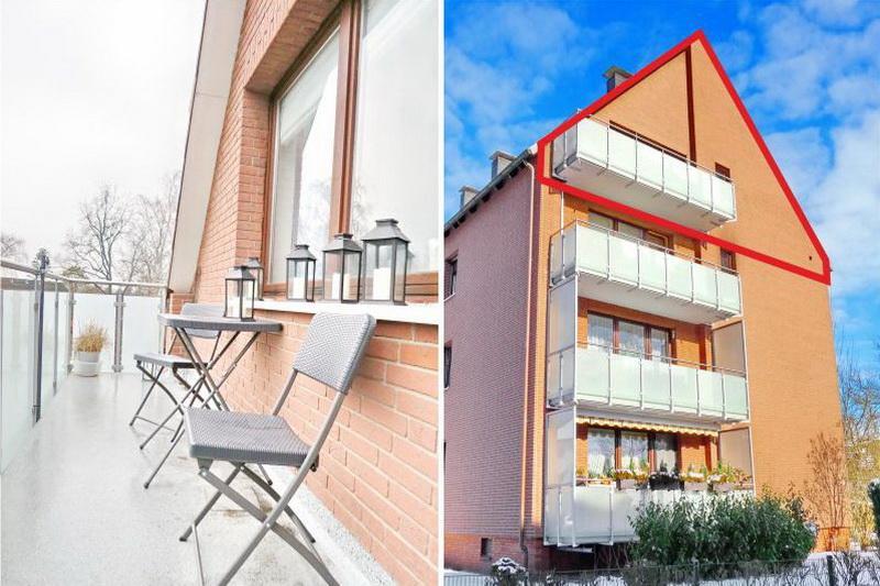 Balkon und Außenansicht