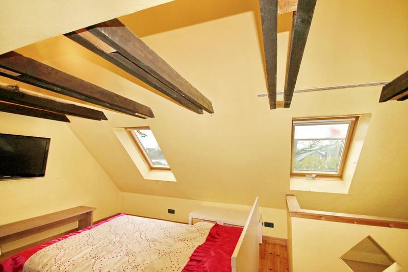 Schlafbereich im 2. Dchgeschoss