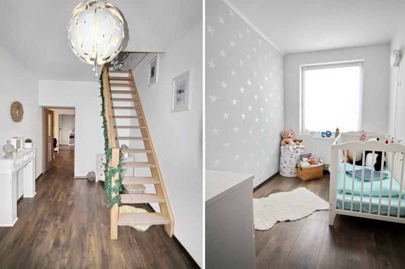 Flur und Kinderzimmer