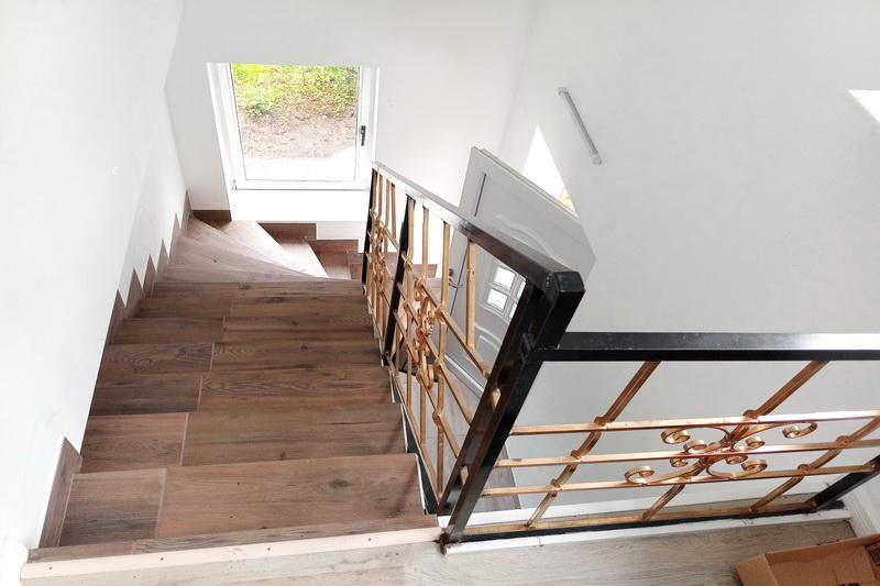 Treppenaufgang ins OG ZFH