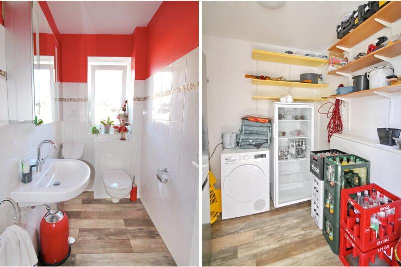 Gäste WC und Abstellraum