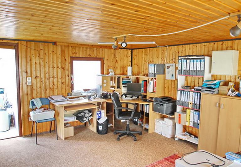 Büro im Gartenhaus